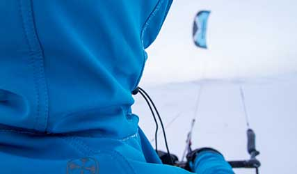 snowkiting video screenshot for VisitSweden