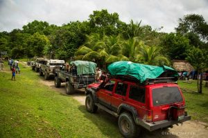 Saving Infinity - Jungle expeditie vervoer
