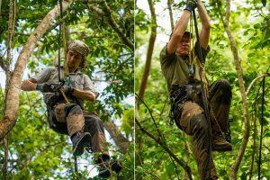Saving Infinity - Samen met de apen in de bomen