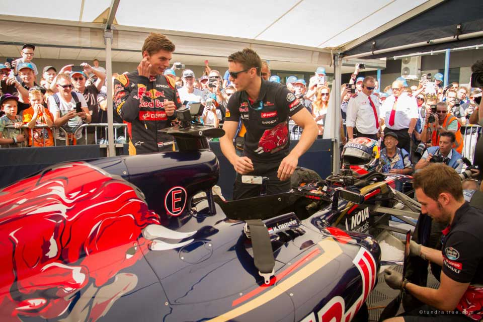 Max Verstappen Red Bull Car