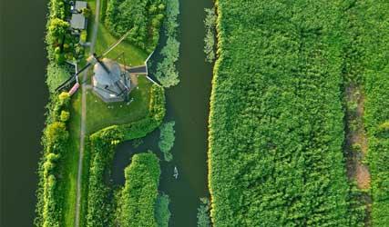 Levende Rivier - Kinderdijk